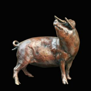 Photo of Pig Bronze Figurine (Limited Edition) Michael Simpson