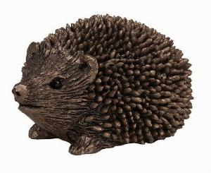 Photo of Prickly Hoglet Walking Bronze Figurine Small hedgehog (Thomas Meadows) Frith Minima