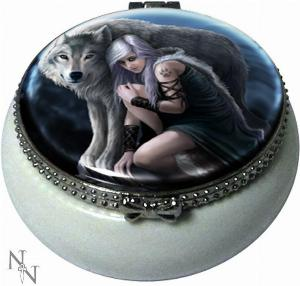 Photo of Protector Trinket Box (Anne Stokes) 5.5cm