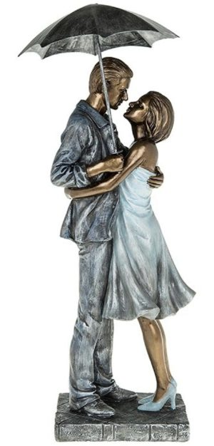 Photo of Rainy Day Embrace Romantic Figurine 40 cm