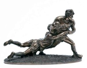 Photo of Rugby Players Figurine Large