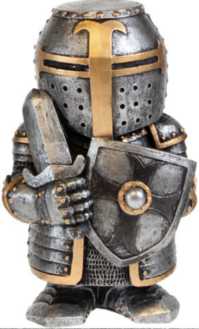 Photo of Sir Defendalot Figurine