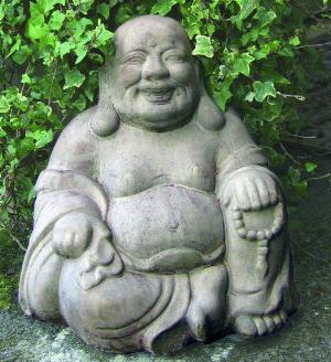 Photo of Sitting Buddha Stone Ornament