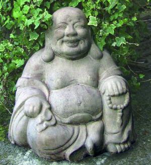 Photo of Sitting Buddha Stone Ornament
