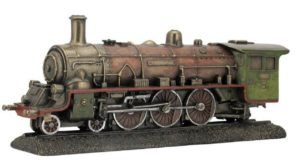 Photo of Steam Train Bronze Figurine