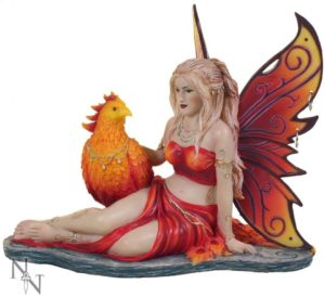 Photo of Sun Phoenix Fairy Figurine 17cm