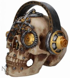 Photo of Techno Talk Steampunk Skull Ornament Large 19 cm