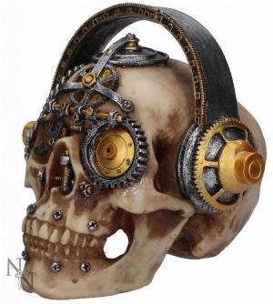 Photo of Techno Talk Steampunk Skull Ornament Large 19 cm