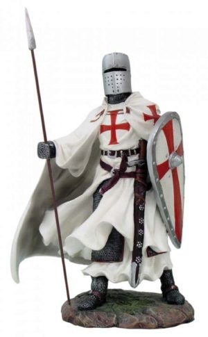 Photo of Templar with Spear and Kite Shield