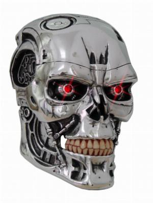 Photo of Terminator Wall Plaque with Light up Eyes