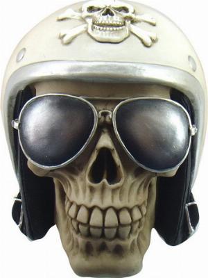 Photo of The Enforcer Skull Ornament