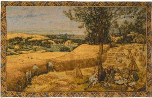 Phot of The Harvest By Pieter Bruegel Wall Tapestry
