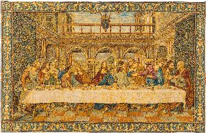 Phot of The Last Supper By Leonardo Da Vinci Wall Tapestry I