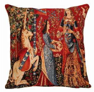 Phot of The Smell Medieval Tapestry Cushion