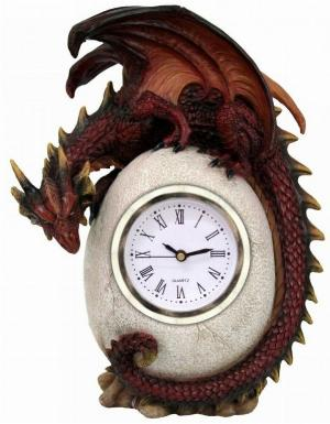Photo of Timeless Guardian Dragon Clock