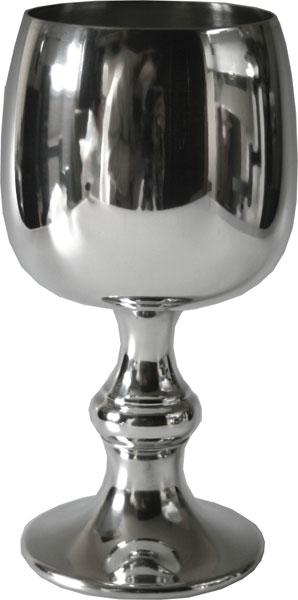 Photo of Tulip Pewter Goblet (Large)