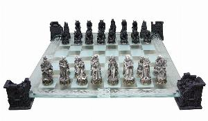 Photo of Vampire and Werewolf Chess Set