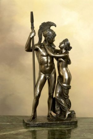 Photo of Venus and Mars Bronze Statue 37 cm