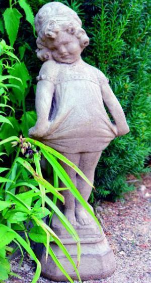 Photo of Victorian Girl Stone Statue
