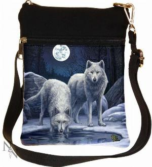 Photo of Warriors of Winter Wolf Small Shoulder Bag (Lisa Parker) 23cm