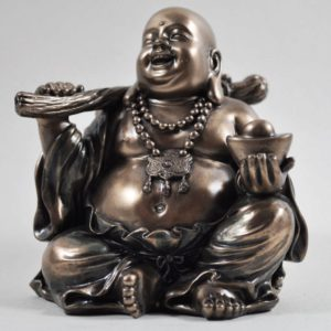 Photo of Wealth Buddha Bronze Figurine