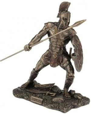 Photo of Achilles Bronze Figurine 23 cm