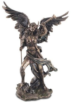 Photo of Archangel Gabriel Bronze Figurine