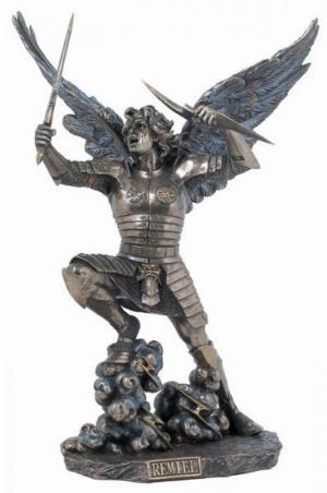 Photo of Archangel Remiel Bronze Figurine