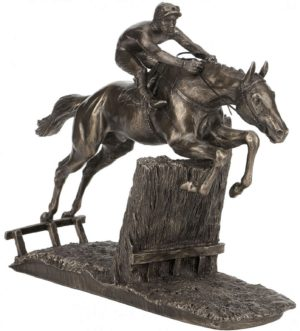 Photo of At Full Stretch Horse Racing Figurine (David Geenty)