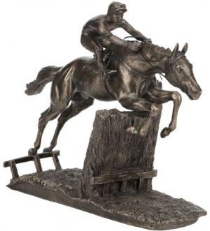 Photo of At Full Stretch Horse Racing Figurine (David Geenty)