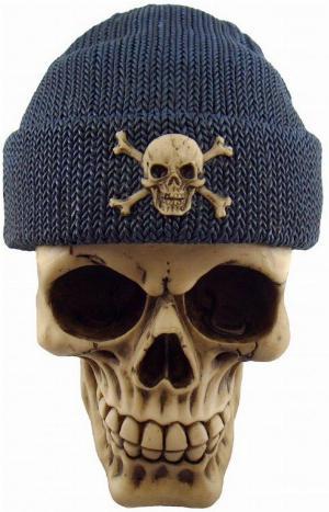 Photo of Blue Beanie Hat Skull