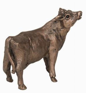Photo of Buttercup Cow Standing Bronze Figurine Small (Thomas Meadows) Frith Minima