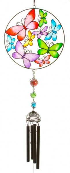 Photo of Butterfly Circle Wind Chime