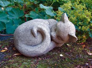 Photo of Cat Nap Stone Ornament