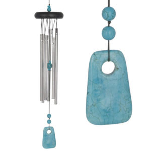 Photo of Chakra Turquoise Wind Chime (Woodstock)