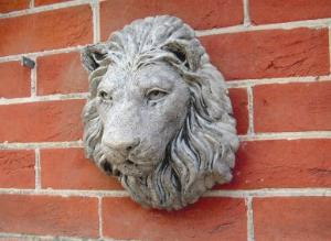 Photo of Chatsworth Lion Stone Plaque
