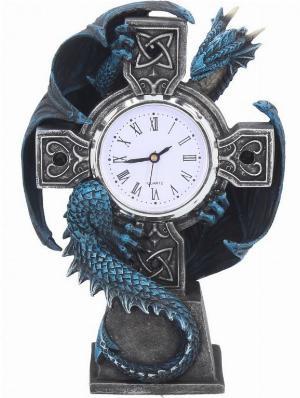 Photo of Draco Figurine Clock (Anne Stokes) 18cm