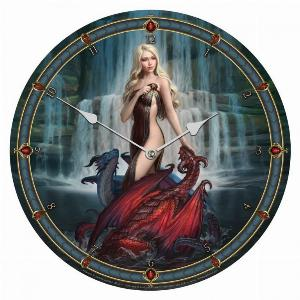 Photo of Dragon Bathers Wall Clock (James Ryman) 34 cm