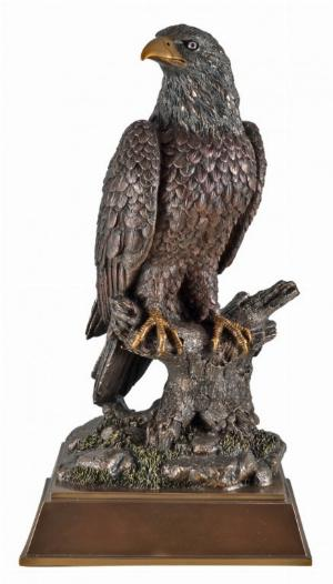 Photo of Eagle Bronze Figurine 42 cm Large