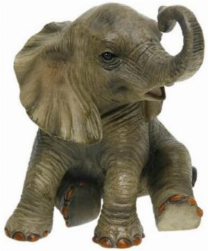 Photo of Elephant Sitting Leonardo Collection 13 cm