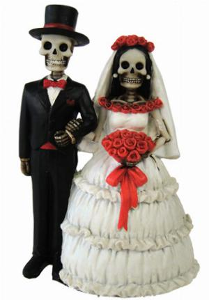 Photo of Eternally Yours Skeleton Figurines