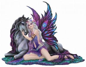 Photo of Eve and the Unicorn Fairy Figurine 37cm