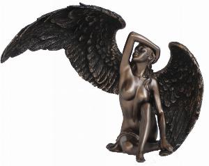 Photo of Female Angel Bronze Figurine
