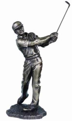 Photo of Golfer Bronze Figurine 42cm Large