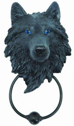 Photo of Guardian Wolf Door Knocker