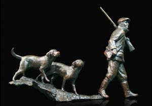 Photo of In the Field Bronze Figurine (Limited Edition) Michael Simpson
