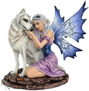Photo of Iridessa Fairy and Wolf Figurine 16cm