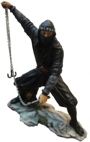 Photo of Japanese Ninja Figurine Colour 22.5cm