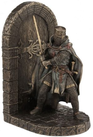 Photo of Knight Bookend Bronze 19.5cm