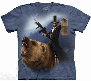 Photo of Lincoln The Emancipator T Shirt The Mountain